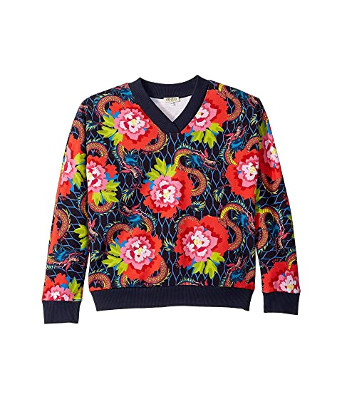 Kenzo Kids All Over Paris Sweatshirt (Big Kids)
