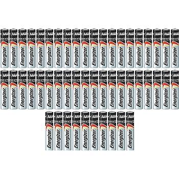 Pack of 50 Energizer E96 AAAA Alkaline Battery Bulk Pack