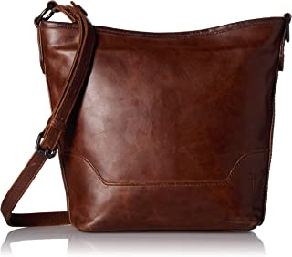 FRYE Melissa Zip Leather Small Hobo