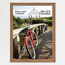 MCS, Medium Oak Woodgrain 20x27 Inch Museum Poster Frame, 20 x 27