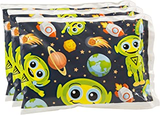 Bentology - Reuseable Ice Pack for Lunch Boxes - Bentology (6 x 4.5) - Alien Design by Bentology