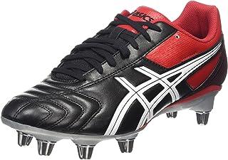 ASICS Lethal Tackle 男士橄榄球鞋 Schwarz (Black/Racing Red/White) 42.5 EU