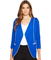 XOXO - Contrast Piped Jacket