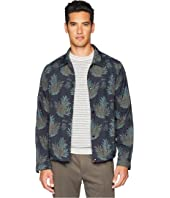 Vince - Tropical Print Coaches Jacket