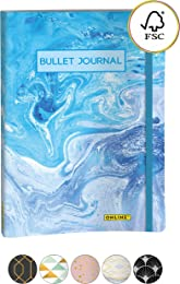 ONLINE Bullet Journal Carnet à linéature pointillé