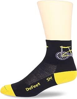DEFEET Men's Aerator Banana Bike Sock