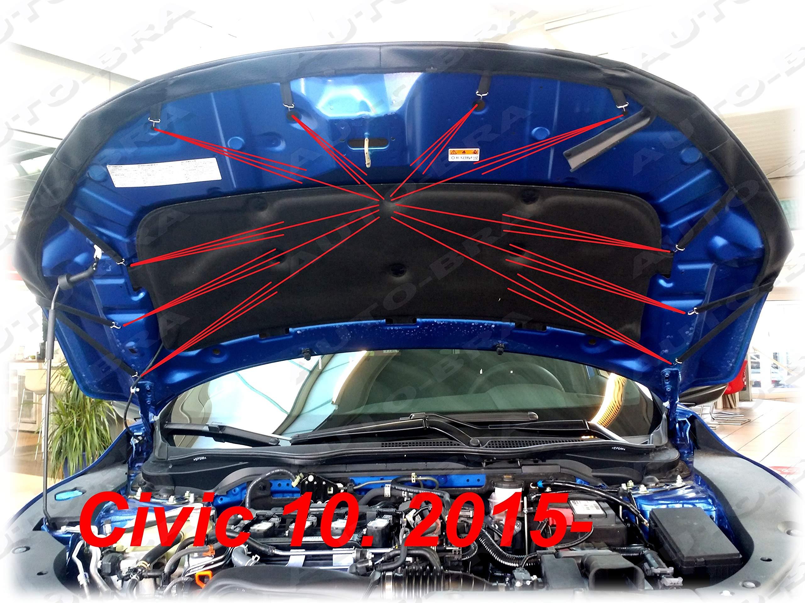 AB-00207 BRA f/ür Fox Haubenbra Steinschlagschutz Tuning Bonnet Bra
