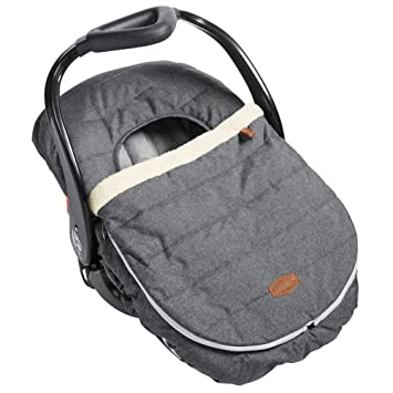 JJ Cole Car Seat Cover Heather Grey, Gray: image