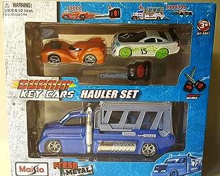 Burnin Key Cars Fresh Metal Hauler Set