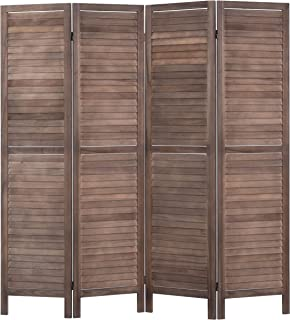 birdrock home 3 panel seagrass room divider