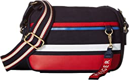 Classic Tommy Camo Horizon Stripe Canvas Crossbody