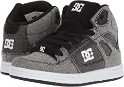 DC Kids Pure High-Top TX SE (Little Kid/Big Kid)