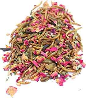 All Natural Mealworm and Herb Treat for Backyard Chickens, Non-GMO, USA Raised, Healthy Backyard Chicken Feed and Supplies, BEE A Happy Hen