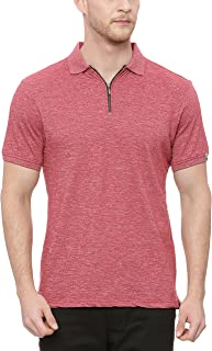 BASICS Muscle Fit Chilli Pepper Red Polo T Shirt