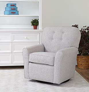 The 1st Chair Lindsay Swivel Glider in Hazy Greige
