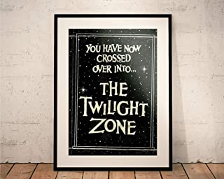 The Twilight Zone. Limited Edition Print. Cult TV (Prints/Posters)