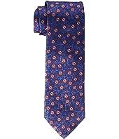 Canali - Woven Jacquard Floral/Vine Tie