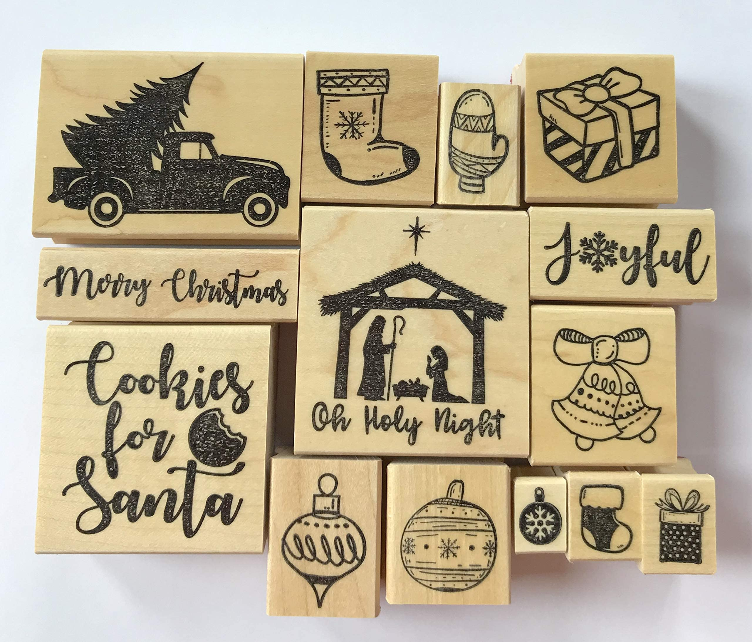 ST001B Christmas Stamp 1pcs Vintage Gingerbread Rubber Stamp \u03a6 15mm Mini Rubber Stamp Xmas Food Stamps