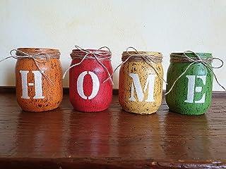 Barattoli HOME - Shabby - Idea Regalo, Idea Decorativa, Giardino, Casa