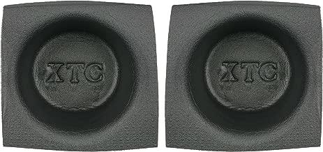 Install Bay Speaker Baffle 6 1/2 Inch Round Small Frame Pair -VXT65