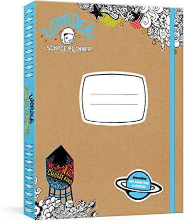 Wonder School Planner: A Week-at-a-Glance Kids' Planner with Stickers