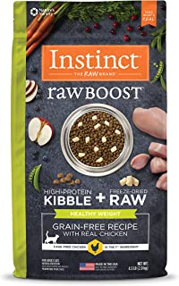 Instinct Raw Boost Healthy Weight Grain Free Recipe Natural Dry Cat Food