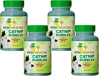 Kookamunga Krazee Kitty Catnip Bubbles, 5 oz