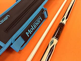JACOBY POOL CUE 0817-21 WITH MOLINARI CASE