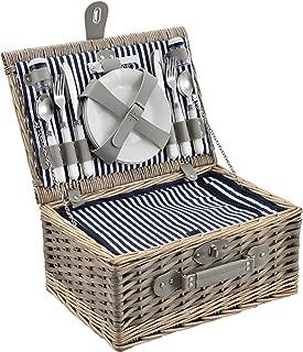 ® Cestino da picnic per 2 persone con borsa a freddo campeggio set casa.pro
