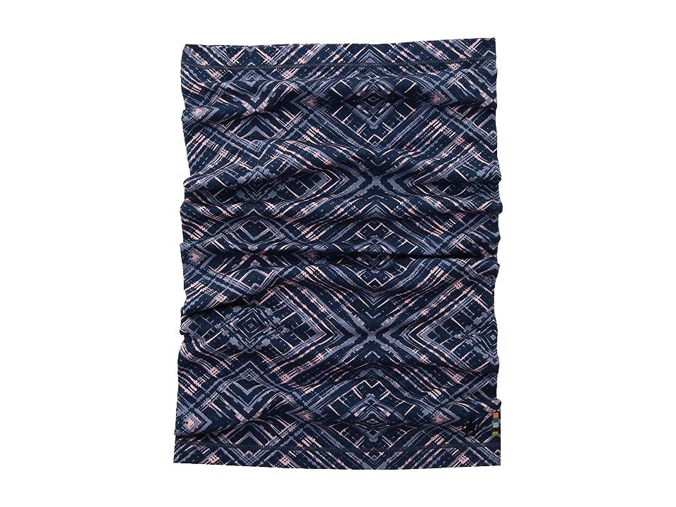 Smartwool Merino 150 Printed Neck Gaiter (Dark Blue Steel) Scarves