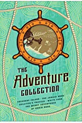 The Adventure Collection: Treasure Island, The Jungle Book, Gulliver's Travels, White Fang, The Merry Adventures of Robin Hood (The Heirloom Collection) Kindle Edition