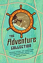 The Adventure Collection: Treasure Island, The Jungle Book, Gulliver's Travels, White Fang, The Merry Adventures of Robin ...