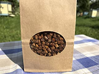 Fresh Organic Bee Bread, Naturally Fermented Pollen, Perga, 1 Pound, 460g.