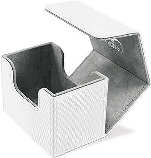 Ultimate Guard Sidewinder Deck Box 80+ XenoSkin Card Game, White, Small