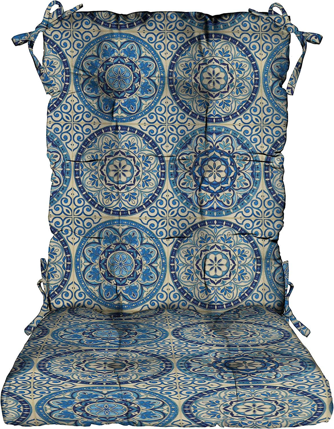 RSH Décor Max 44% OFF Indoor Outdoor Tufted Rocker Pad Chair Cush Rocking Max 53% OFF