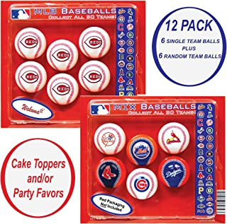 Reds Cupcake Toppers. Party Favors Decorations & Supplies. Cincinnati Baseball Birthday Cake Decor & Supply.