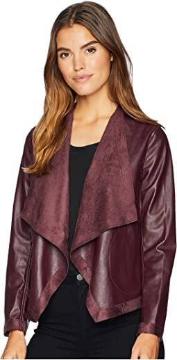 Teagan Reversible Vegan Leather Jacket