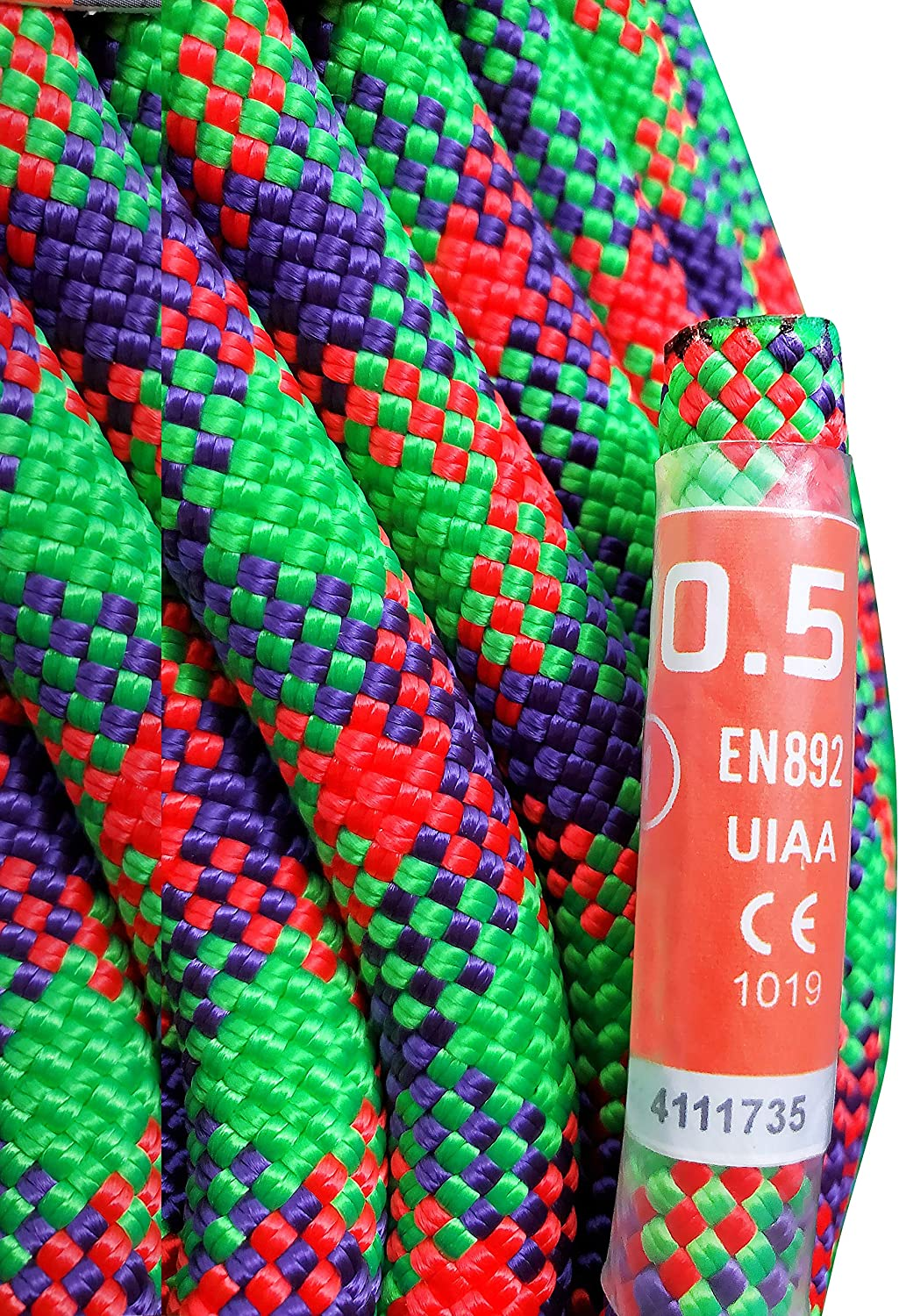 SGT KNOTS Dynamic Rage Climbing Rope ARMBURY All-Purpose Rope for Rock and Ice Climbing Sports Climbers Rope