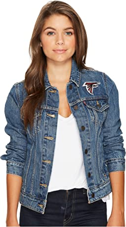 Falcons Sport Denim Trucker