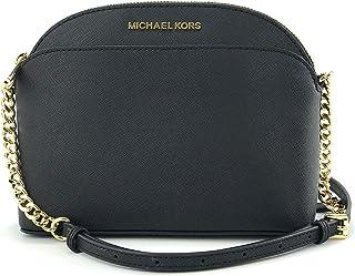 Michael Kors Emmy Saffiano - Bolso de piel cruzada mediana