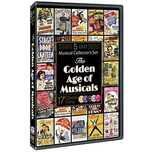 The Golden Age of Musicals (17 Classic Films) [Import]
