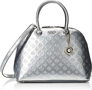 GUESS womens Peony Shine Large Dome Satchel