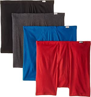 Hanes Men's 4-Pack FreshIQ ComfortSoft Extended Sizes Boxer Briefs