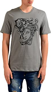 Collection Men's Gray Graphic Print T-Shirt US S IT 48;