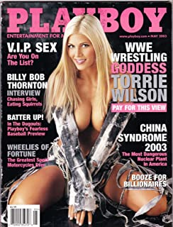 Torrie Wilson May 2003 Playboy Magazine BAS Beckett COA WWE