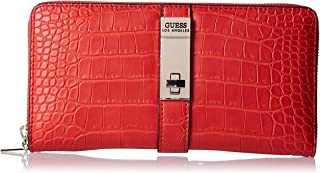 GUESS Women's Asher Slg Cheque Organizer, Red - CG747763