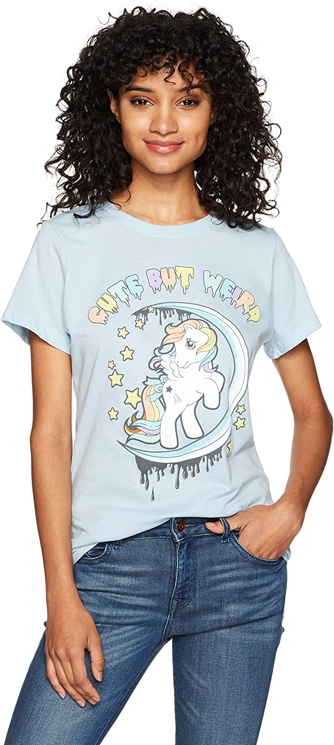 Goodie Two Sleeves Women's My Little Pony Stay Weird LBL Tee