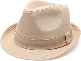 17bd727083ac60 Amazon.com: Beige - Fedoras / Hats & Caps: Clothing, Shoes & Jewelry