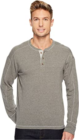 Long Sleeve Terry Henley
