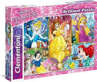 Clementoni - 20140 - Puzzle - Brilliant Princess - 104 Pièces